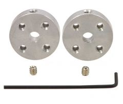 Pololu Universal Aluminium Mounting Hub (4mm Shaft) Pair, 4-40 Holes