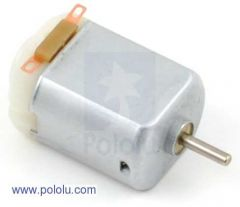 Brushed DC Motor: 6V 130-Size,11.5kRPM, 800mA Stall