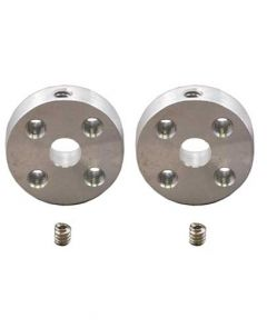 Pololu Universal Aluminum Mounting Hub (5mm Shaft) Pair, 4-40 Holes