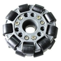 100mm Double Plastic Omni Wheel w/Bearing