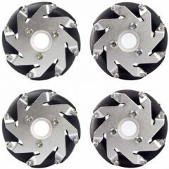 60mm Aluminium Mecanum Wheel Set 4pcs