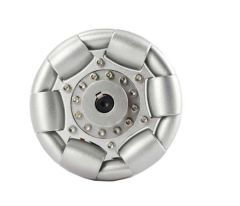 100mm Aluminium Single Omni Wheel for ball balance Ballbot