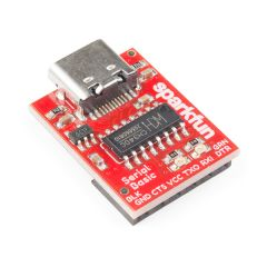 SparkFun Serial Basic Breakout - CH340C and USB-C on angle