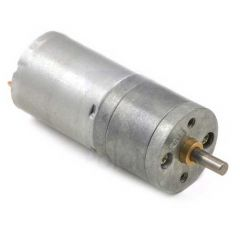 20.4:1 Metal Gearmotor 6V 25Dx50L mm HP