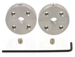 Pololu Universal Aluminium Mounting Hub (4mm Shaft) Pair, M3 Holes