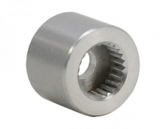"0.375"" x 0.280"" Servo Shaft 25 Tooth Spline"