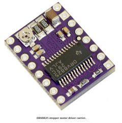 DRV8825 Stepper Motor Driver Carrier close up