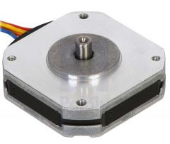 Sanyo Pancake Stepper Motor: Bipolar, 200 Steps/Rev, 42×11.6mm, 3.5V, 1 A/Phase