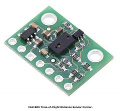 VL6180X Time-of-Flight Distance Sensor Carrier.