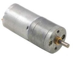 9.7:1 Metal Gearmotor 12V 25Dx48L mm HP