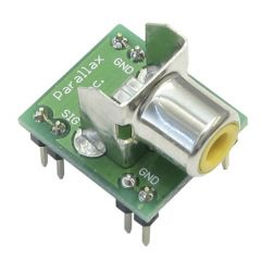 RCA to Breadboard Adapter