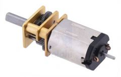 10:1 Micro Metal Gearmotor HPCB with Extended Motor Shaft