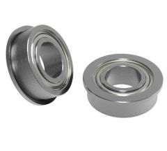 535220  6mm ID x 12mm OD Flanged Ball Bearing (2 pack)