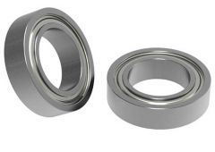 "3/8"" ID x 5/8"" OD Non-Flanged Ball Bearing Pack of two"