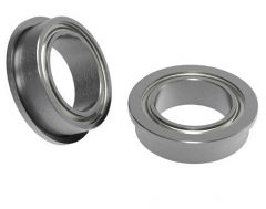 8mm ID x 12mm OD Flanged Ball Bearing (2 pack)