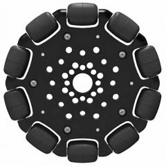 "4"" Omni Wheel front view"