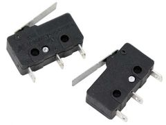 SPDT Miniature Limit Switch with Lever (2 pack)