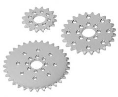 "1/2"" Bore 0.250"" Pitch Aluminium Hub Sprockets"