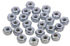 6-32 Nylock Nuts Pack (25 pack)