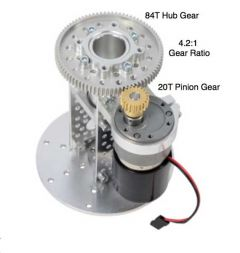 Gear Drive Pan Kit A showing details