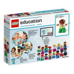 World People Set Lego Education Box