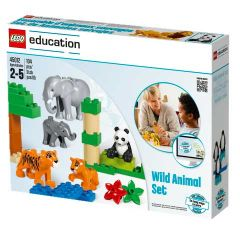 Wild Animals Set Lego Education Box