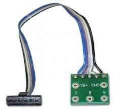 ABC Hall Cable with single row Molex connector + transition board for Brushless Motor Controllers