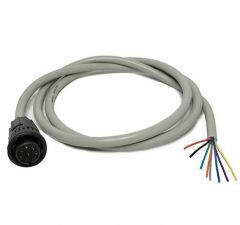 CABLE-RGBX1 Cable for RGBL and RGIM controllers. 8 pin circular connector to 8 colour-coded wires, 3 ft long.