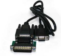 25-pin to RS232 Cable