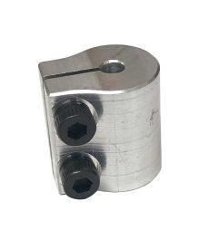 "1/8"" to 3/8"" Clamping Shaft Coupler"