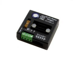 Control a single DC motor up to 4A with this compact and affordable Phidget DCC1002_0. Connects to a VINT port.