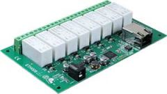 ETH008 - 16Amp, 8 Channel Relay Module