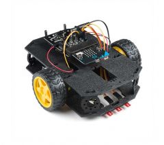 SparkFun micro:bot built up chassis
