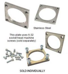 Large Square Screw Plate (585430)