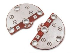 Leg Mounting Pads - Rounded