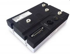 Brushed DC Motor Controller, Single Channel, 1 x 300A, 60V, USB, CAN, 16 Dig/Ana IO, Cooling plate with ABS cover
