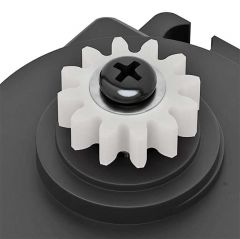 Close up of 32P, 24T C1 Spline Servo Mount Gears (Acetyl)