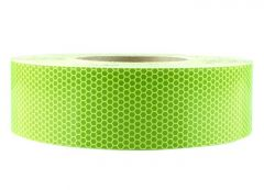 """Reflective Tape roll 82' (25m) long by 1"""" (25mm) wide."""