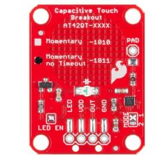 SparkFun Capacitive Touch Breakout - AT42QT1011 front