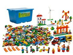 Community Starter Set Box and product, lego education