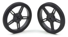 Pololu Wheel 70x 8mm Pair - Black