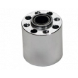 shown above with a 12mm center hole adaptor and Hub Spacer