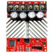 Top down view - RoboClaw HV 2x60A, 60VDC Motor Controller