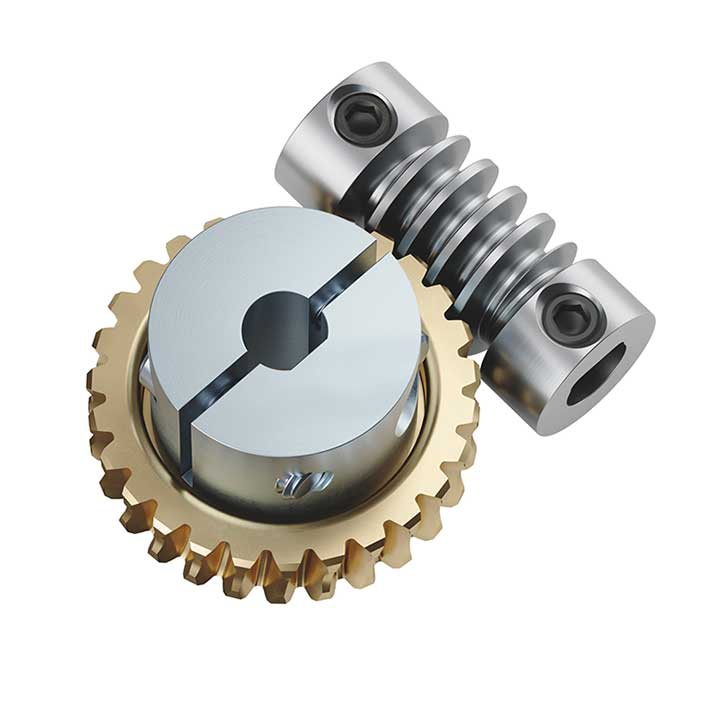 637226 Worm Gear Set (6mm to 1/4
