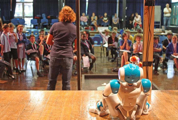 Active Robots Gladiator event