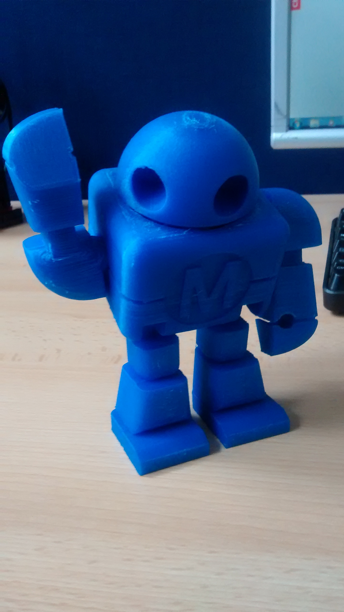 First Use: Weistek 3D Printer