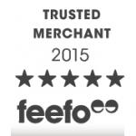 We've received a Feefo Customer Service Award!