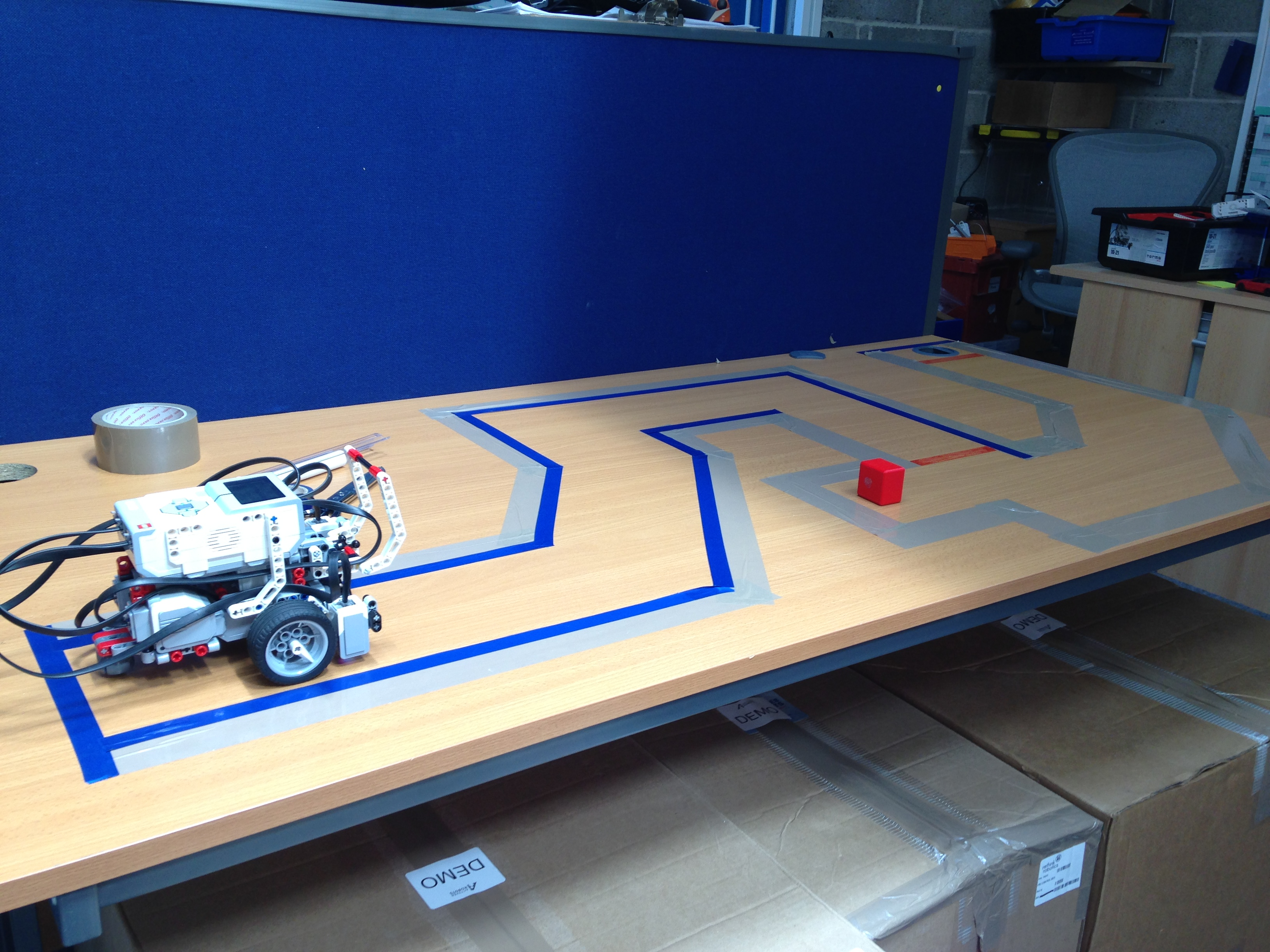 Work Experience at Active Robots