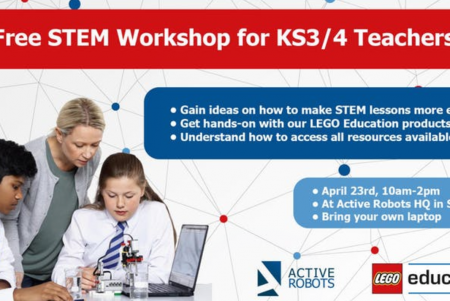 STEM Education Workshops at Active Robots