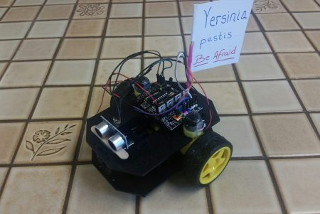 Cheap STEM Education Robot Project